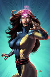 Jean Grey by Rennee