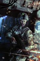 Sgt Brock by Rennee