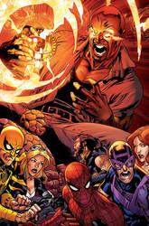 avengers by Rennee