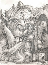 Giant and Dwarf - GiantSlayers II by SamwiseDidier