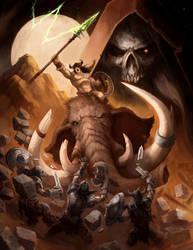 Mammoth Rider by SamwiseDidier