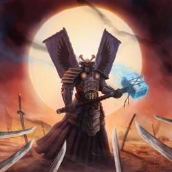 HammerFall - Bushido a.k.a. Hammerai by SamwiseDidier
