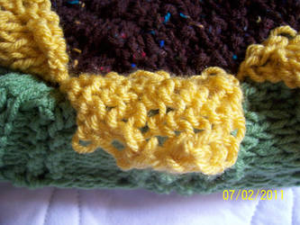 Sunflower Bar Stool Cover 2 by catluvr2