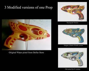 Stunner water pistols by GenieMiller