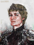 Cersei Lannister by lunzh