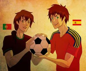 Iberian Bros by SusiKicks