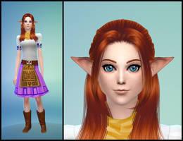 The Sims 4: LoZ Majora's Mask - Cremia by Tx-Slade-xT