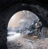 Pencader Tunnel looking out by amberstudios