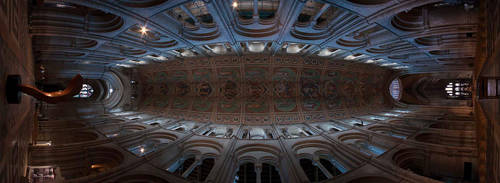 Ely Cathedral ceiling artistry by amberstudios