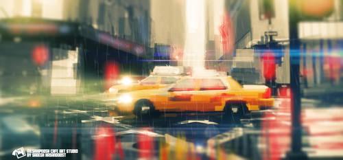 Sprite Taxi by schushali