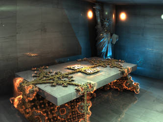 3D table2 - Mandelbuld 3D with Parameter by matze2001