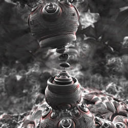 rough-bulb 2 - Mandelbulb3D with Parameter by matze2001