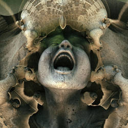 cry - Mandelbulb3D with Parameter and heightmap by matze2001