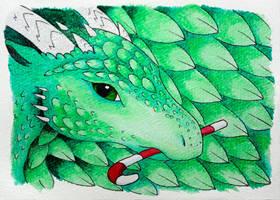 DR Christmas postcard - Beisara by MiaErrianIrielynn