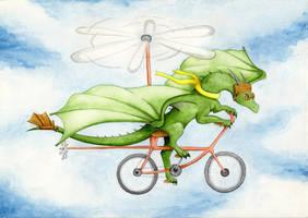 I'm flyyyying! by MiaErrianIrielynn