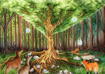 Heart of Forest by MiaErrianIrielynn
