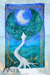 Commission : Celtic tree by MiaErrianIrielynn