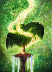 A lonely tree by MiaErrianIrielynn