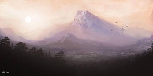 Unknown Landscape I by MacRebisz