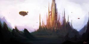 Spire City by MacRebisz