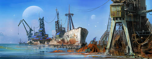 Coast guard by MacRebisz