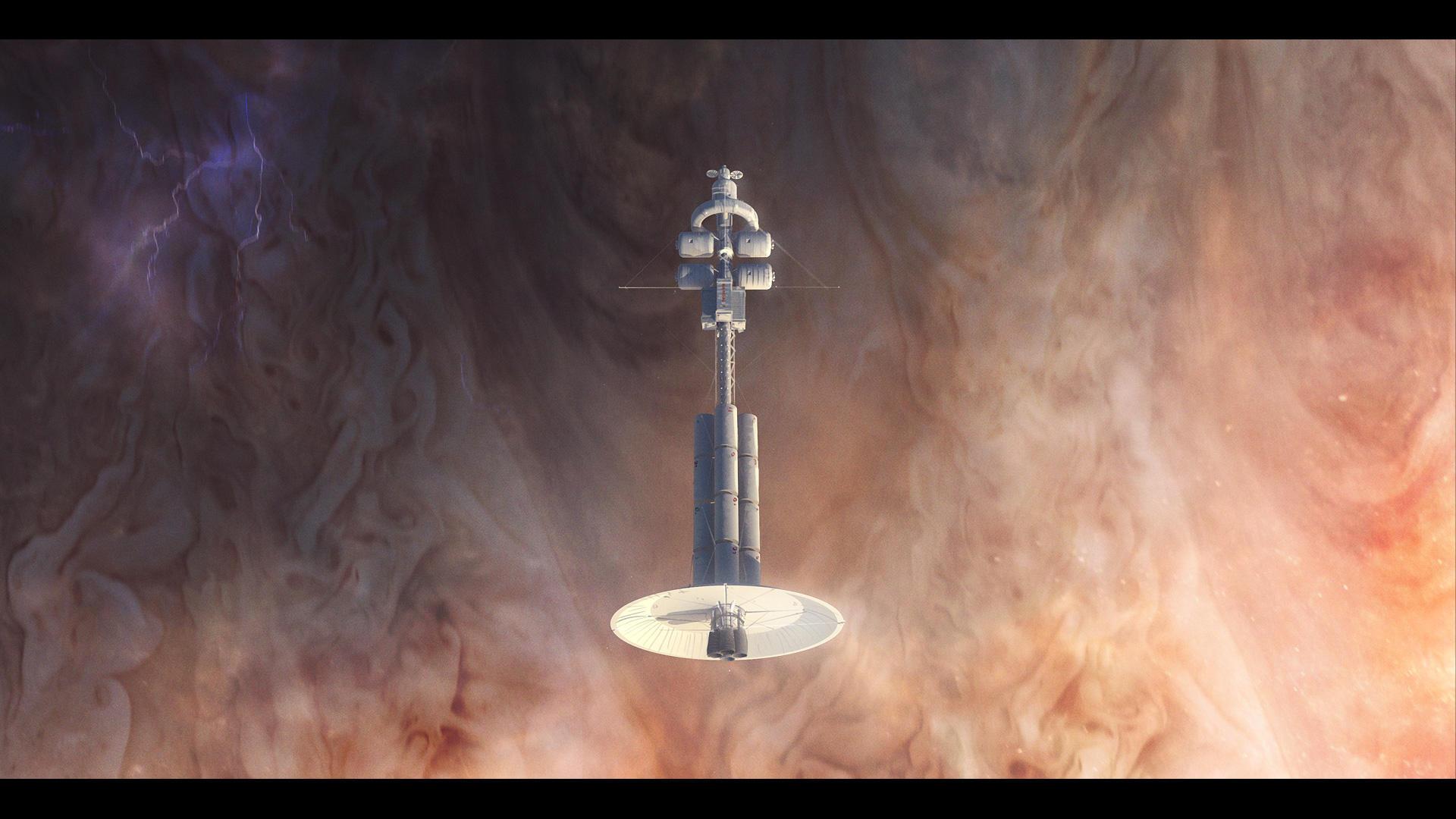 Heimdall 1 over Jupiter by MacRebisz