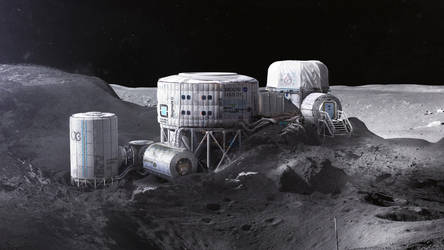 Twardowsky's Moon habitat by MacRebisz