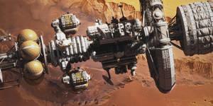 Kronos at Mars II by MacRebisz