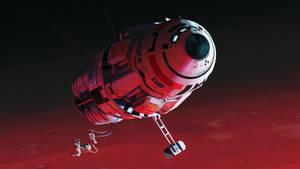 In orbit by MacRebisz