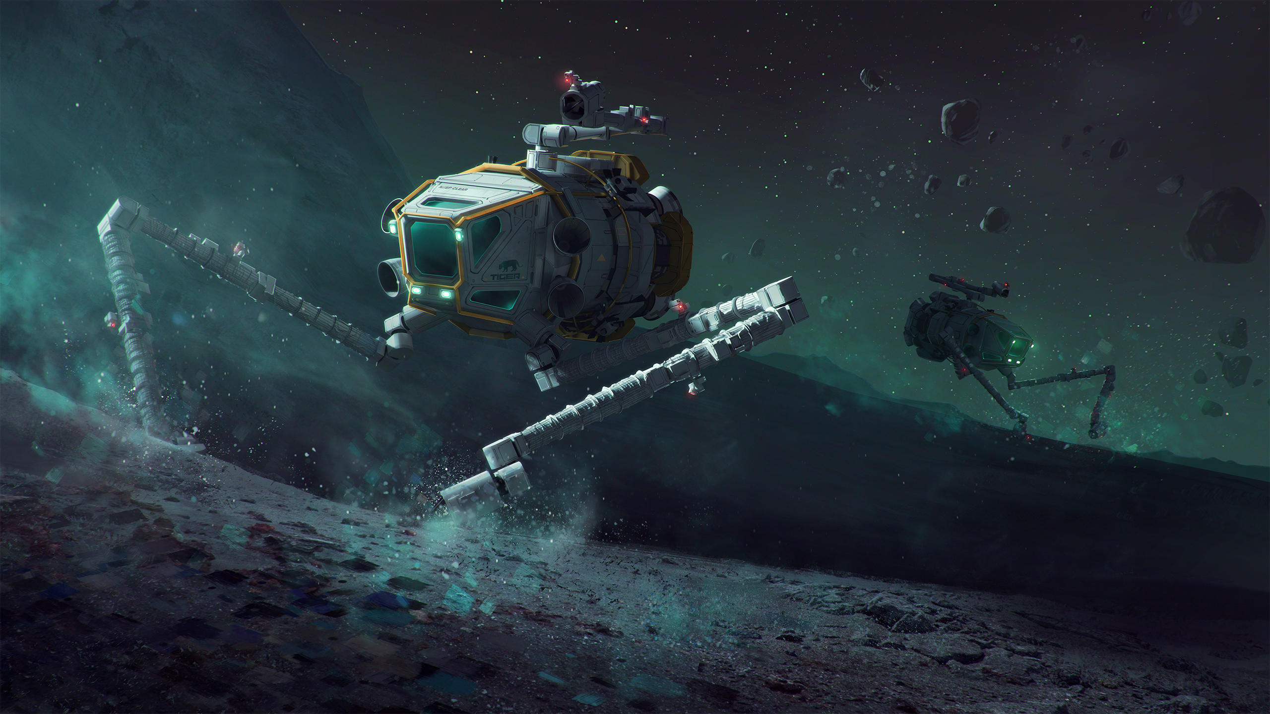 Prosperous Universe: Asteroid Day 2017 by MacRebisz