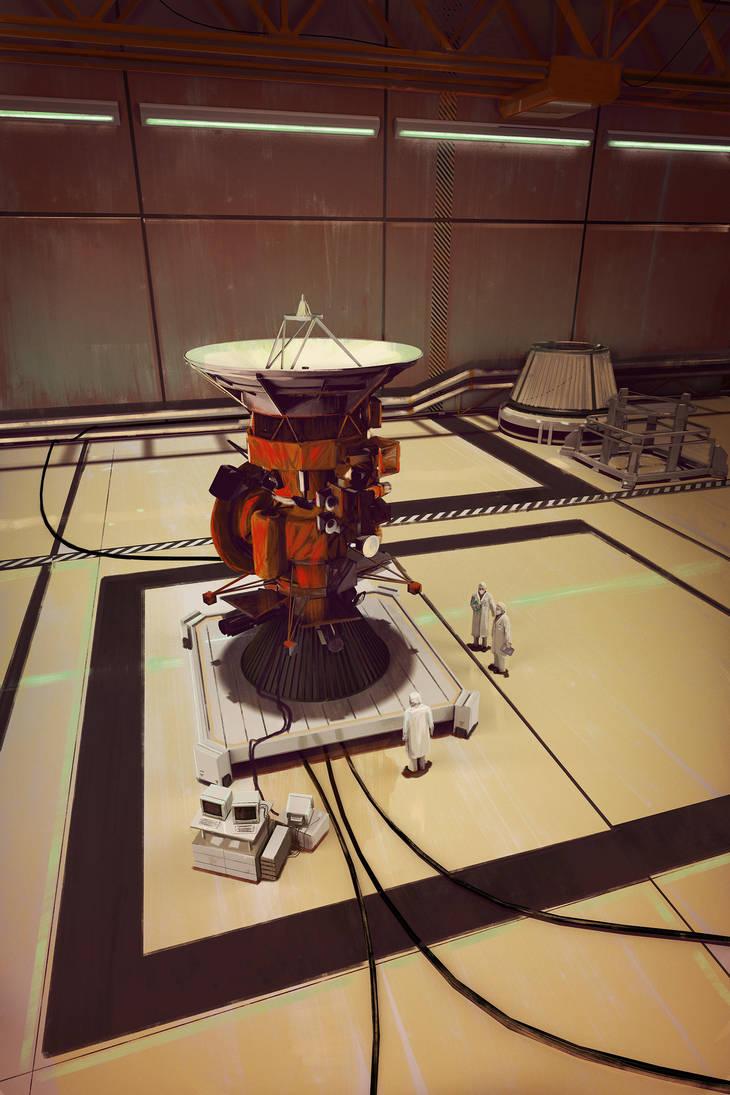 Cassini Assembly by MacRebisz