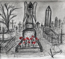 Sketchbook_Graveyard by MacRebisz