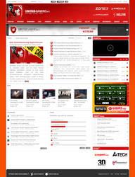 UnitedGaming Website by nosx
