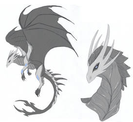 Armored dragon (Adopt SOLD) by Lidelman