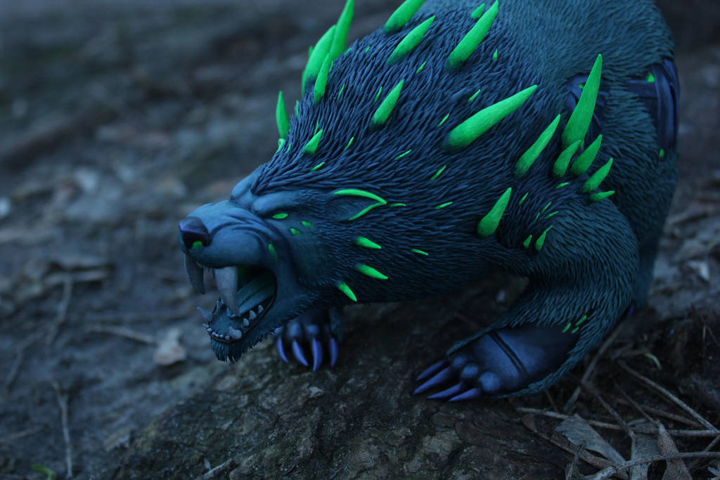 Druid/World of Warcraft by panteriusworkshop