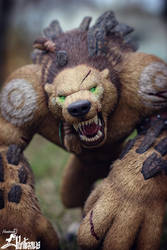 Might of the Grizzlemaw (World of Warcraft) by panteriusworkshop
