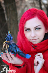Anzu the Raven God (World of Warcraft) by panteriusworkshop