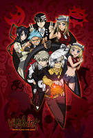 Soul Eater Group Pic by kina
