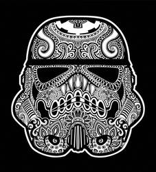 Day of the Dead Trooper by kina