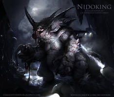 Nidoking by JRCoffronIII