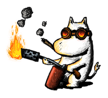 Doom Moomin by maduin83