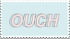 ouch stamp by Nine-Inch-Kales