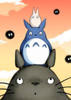 Tonari no Ghibli by PigSaint