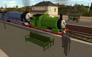 Gordon and Percy arrived with the Smelling Salts by BramGroatonDA