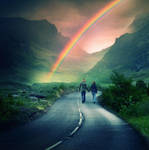 To the rainbow by cimengizem