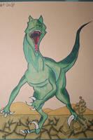 #1 Swift - Velociraptor by Frakkle-art