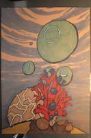 #4 Underwater - Bubbles by Frakkle-art