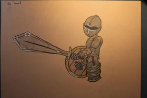 #6 Sword - Knight by Frakkle-art