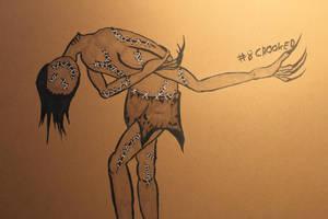 #8 Crooked - Abomination by Frakkle-art