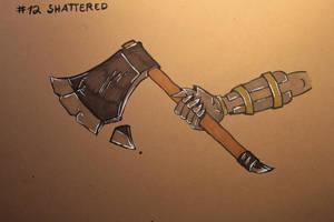 #12 Shattered - Axe by Frakkle-art